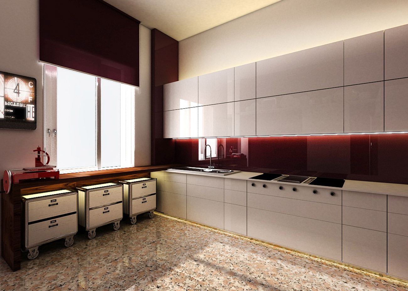 spazio-kitchen-total-white